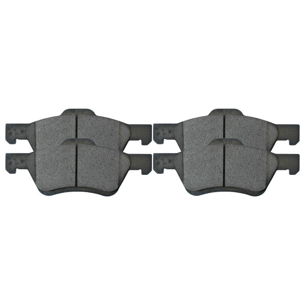 Front Performance Ceramic Brake Pad Set - Part # PCD1047
