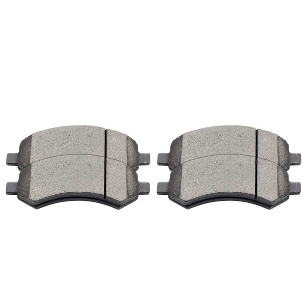 Front Performance Ceramic Brake Pad Set - Part # PCD1084