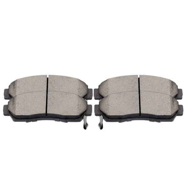 Front Performance Ceramic Brake Pad Set - Part # PCD1089