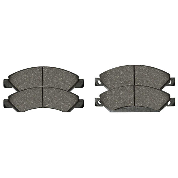 Front Performance Ceramic Brake Pad Set - Part # PCD1092