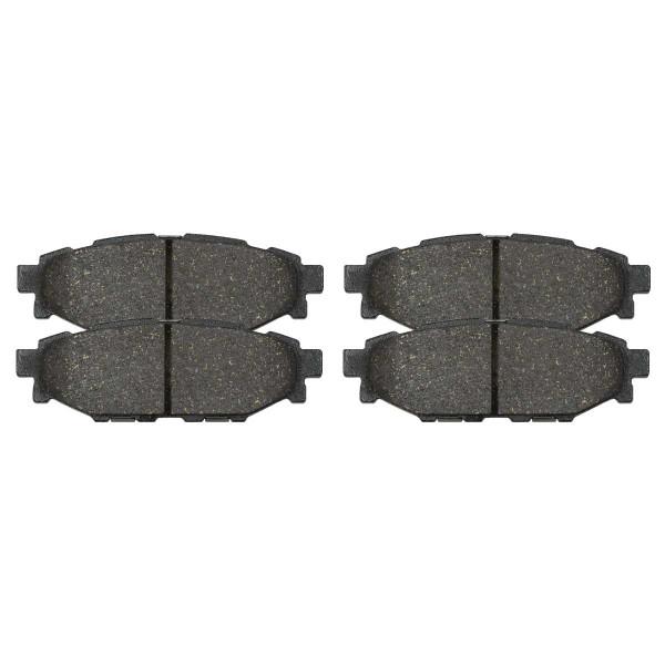 Rear Performance Ceramic Brake Pad Set 4 Wheel Disc - Part # PCD1114