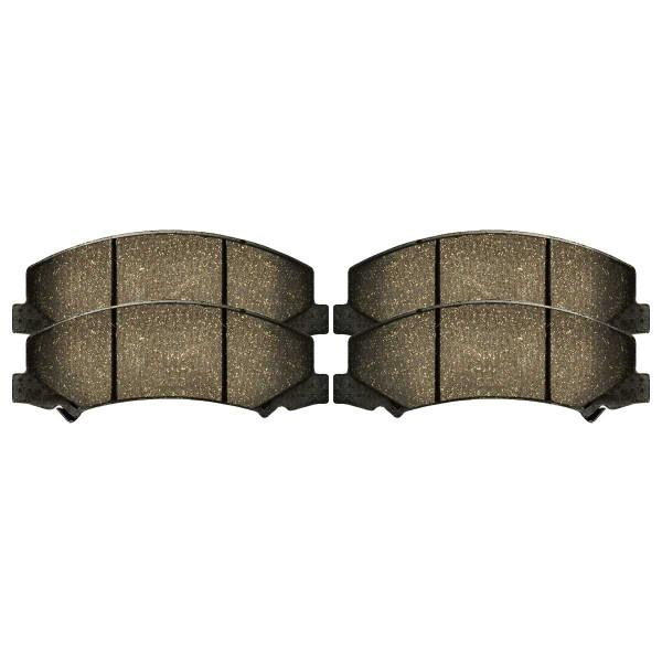 Front Performance Ceramic Brake Pad Set - Part # PCD1159