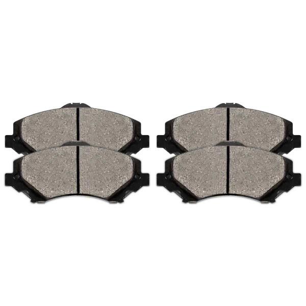 Front Performance Ceramic Brake Pad Set - Part # PCD1273