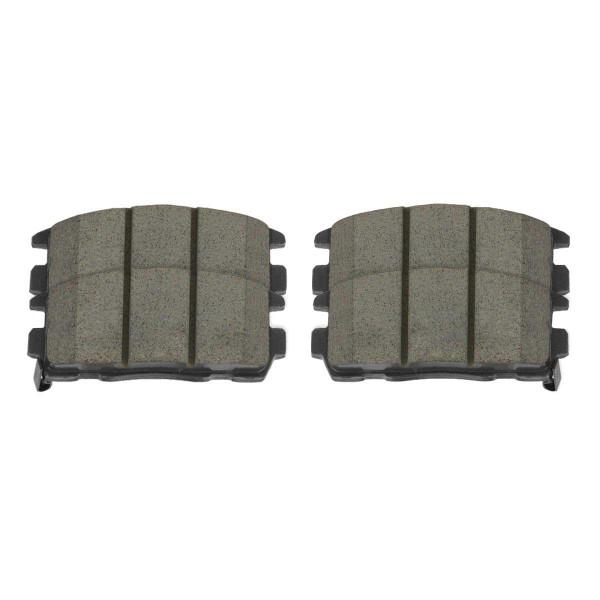 Rear Performance Ceramic Brake Pad Set - Part # PCD1275
