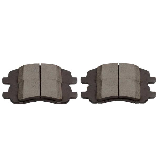 Front Performance Ceramic Brake Pad Set - Part # PCD1285