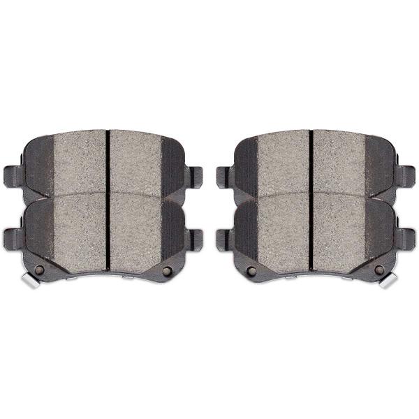 Rear Performance Ceramic Brake Pad Set - Part # PCD1326