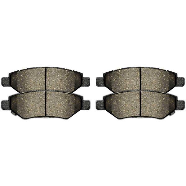 Rear Performance Ceramic Brake Pad Set - Part # PCD1337