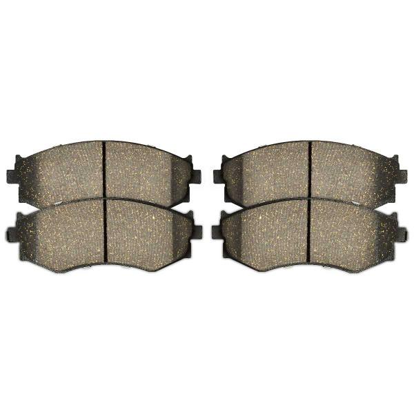 Front Performance Ceramic Brake Pad Set - Part # PCD485