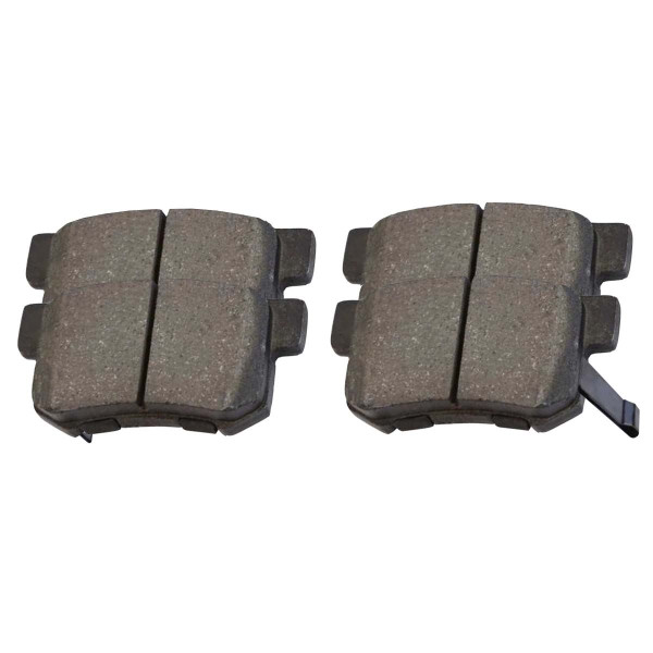 Rear Performance Ceramic Brake Pad Set 4 Wheel Disc - Part # PCD537
