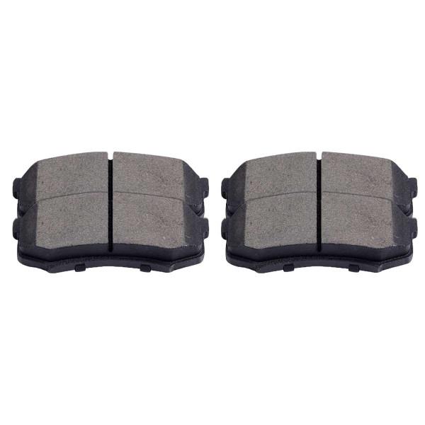 Rear Performance Ceramic Brake Pad Set 4 Wheel Disc - Part # PCD606