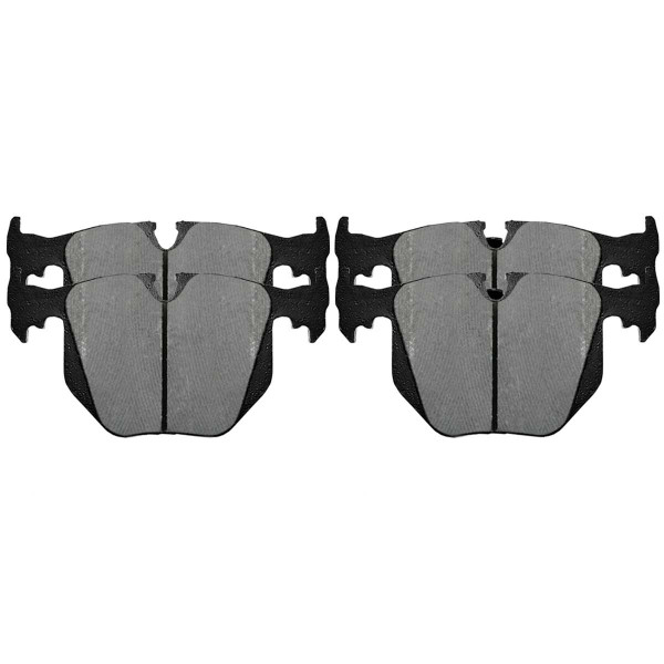 Rear Performance Ceramic Brake Pad Set - Part # PCD683