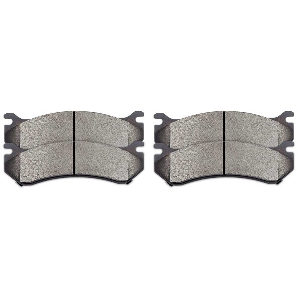 Performance Ceramic Brake Pad Set 4 Wheel Disc - Part # PCD785