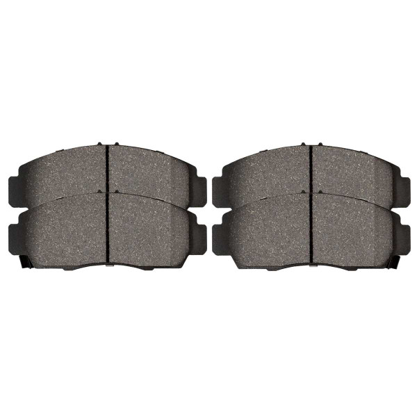 Front Performance Ceramic Brake Pad Set - Part # PCD787