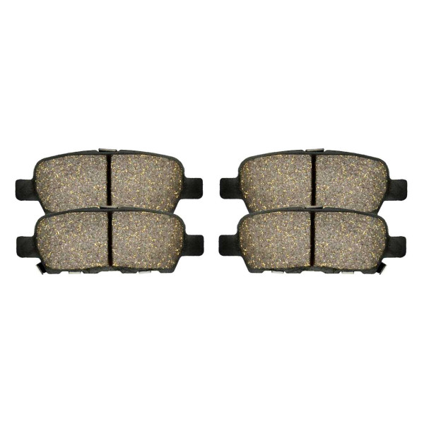 Rear Performance Ceramic Brake Pad Set 4 Wheel Disc - Part # PCD905