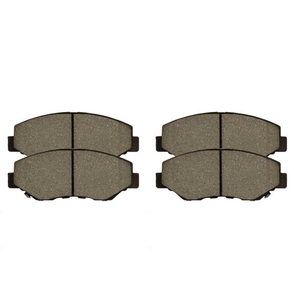 Front Performance Ceramic Brake Pad Set - Part # PCD914