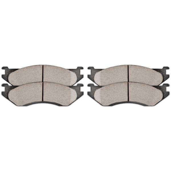 Front Performance Ceramic Brake Pad Set - Part # PCD966