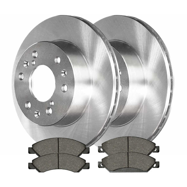 Front Performance Brake Pad and Rotor Bundle - Part # PCDR65099650991092
