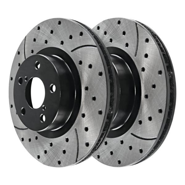 Front Performance Brake Rotor Pair 11.54 Inch Diameter - Part # PR44205LR