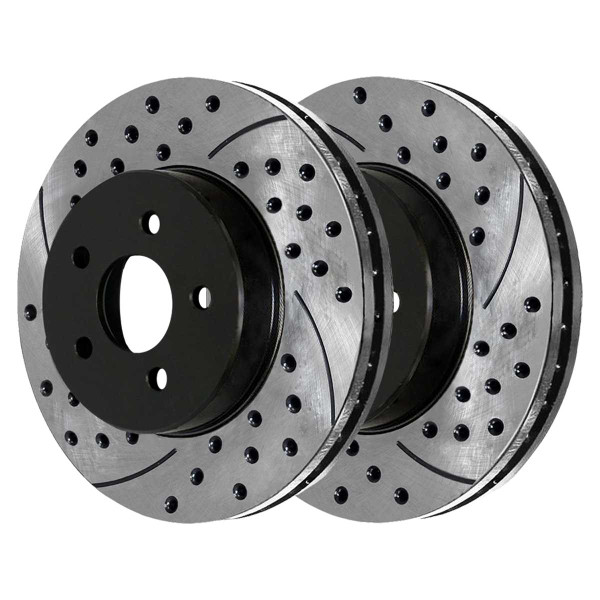 Front Performance Brake Rotor Pair 13.6 Inch Diameter - Part # PR63025LR
