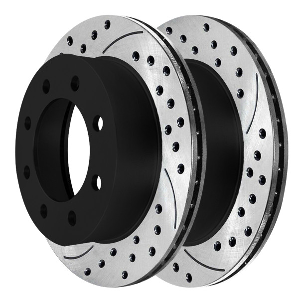 Front Performance Brake Rotor Pair 4WD - Part # PR64126LR
