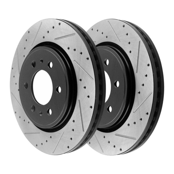 Front Performance Brake Rotor Pair 6 Stud - Part # PR64155LR