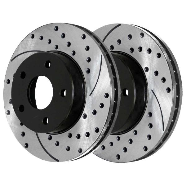 Front Performance Brake Rotor Pair 296mm Diameter - Part # PR65095LR