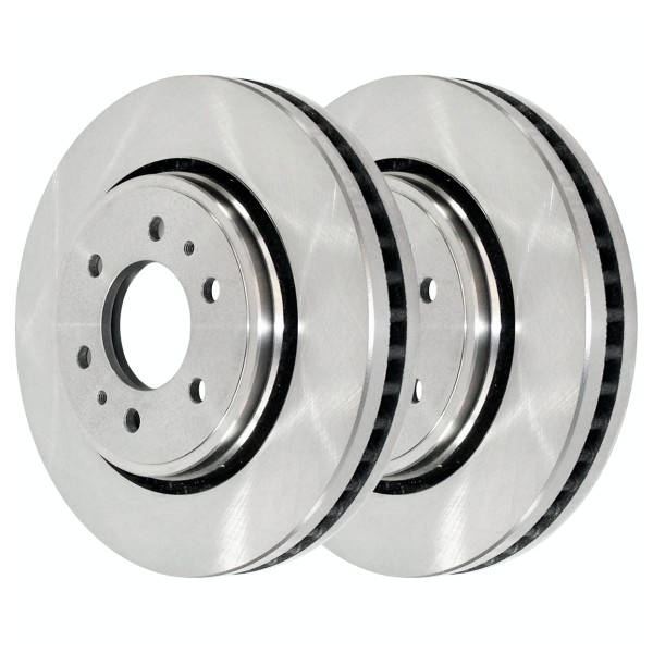 Front Disc Brake Rotor Pair 6 Stud - Part # R64155PR