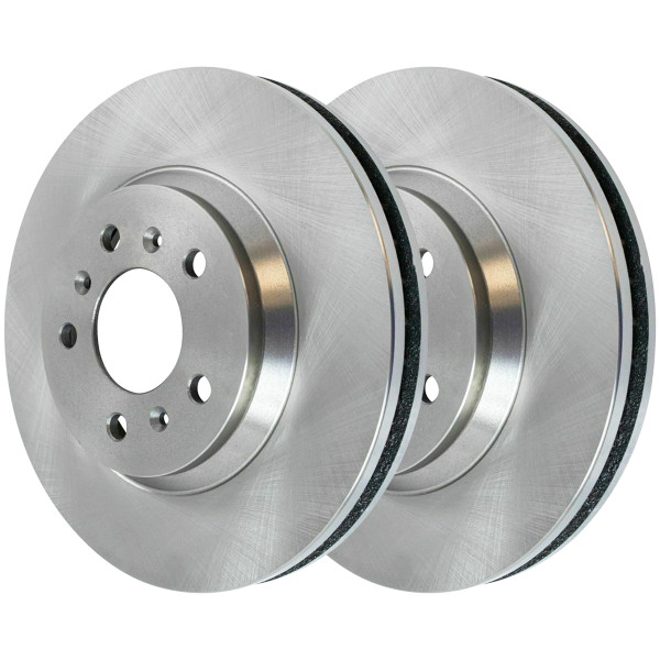 Front Disc Brake Rotor Pair 11.92 Inch Diameter - Part # R65128PR