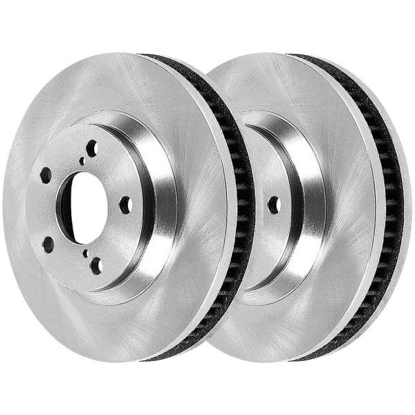 Front Ceramic Brake Pad and Rotor Bundle - Part # RSCD41272-41272-923-2-4