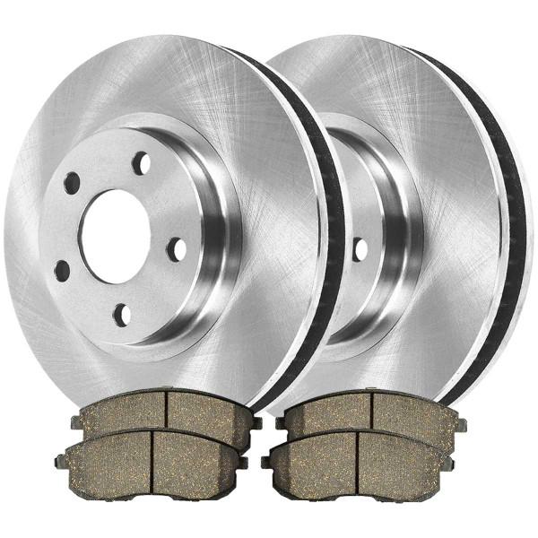 Front Ceramic Brake Pad and Rotor Bundle - Part # RSCD41308-41308-815A-2-4