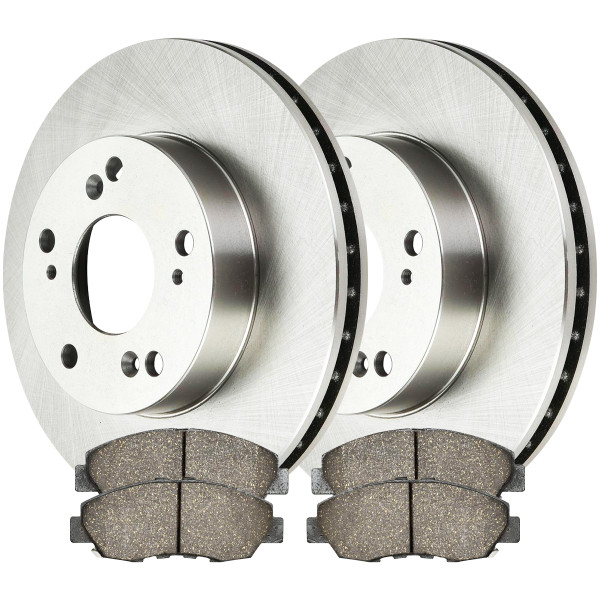 Front Ceramic Brake Pad and Rotor Bundle - Part # RSCD41313465A