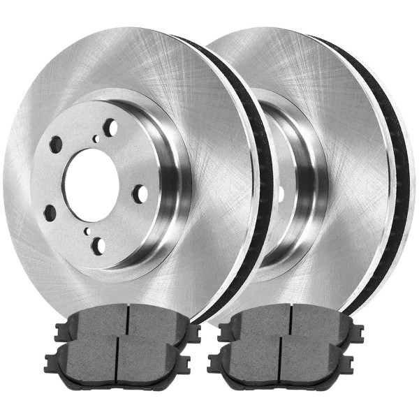Front Ceramic Brake Pad and Rotor Bundle - Part # RSCD41316-41316-906-2-4