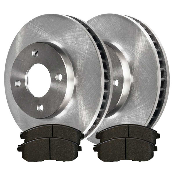 Front Ceramic Brake Pad and Rotor Bundle - Part # RSCD41465-41465-815A-2-4