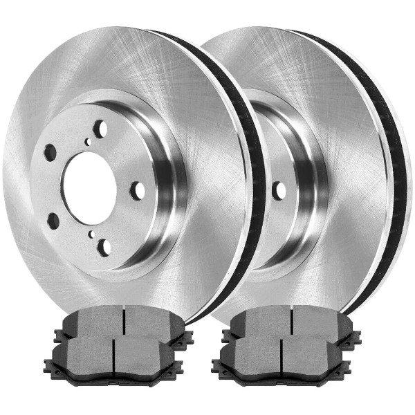 Front Ceramic Brake Pad and Rotor Bundle - Part # RSCD41507-41507-1210-2-4