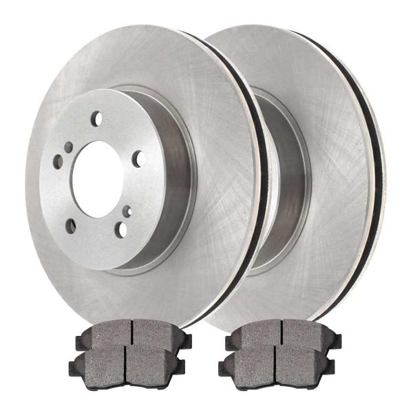 Front Ceramic Brake Pad and Rotor Bundle - Part # RSCD4293-4293-562-2-4