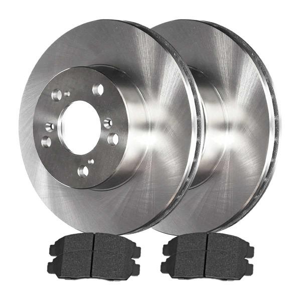 Front Ceramic Brake Pad and Rotor Bundle - Part # RSCD4298-4298-503-2-4