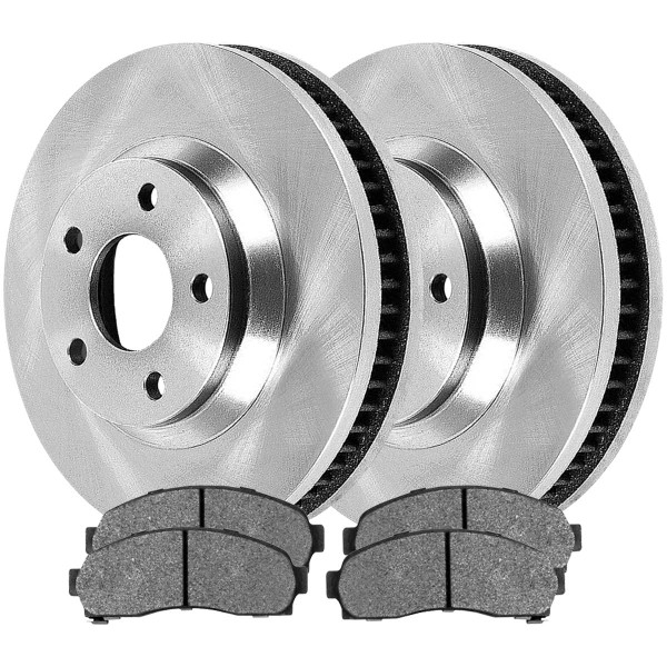 Front Ceramic Brake Pad and Rotor Bundle - Part # RSCD65082-65082-913-2-4