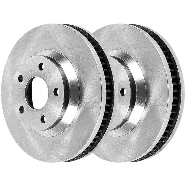 Front Ceramic Brake Pad and Rotor Bundle - Part # RSCD65082-65082-913-2-4