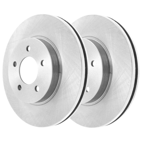 Front Semi Metallic Brake Pad and Rotor Bundle 10.94 Inch Rotor Diameter - Part # RSMK65038-65038-699-2-4