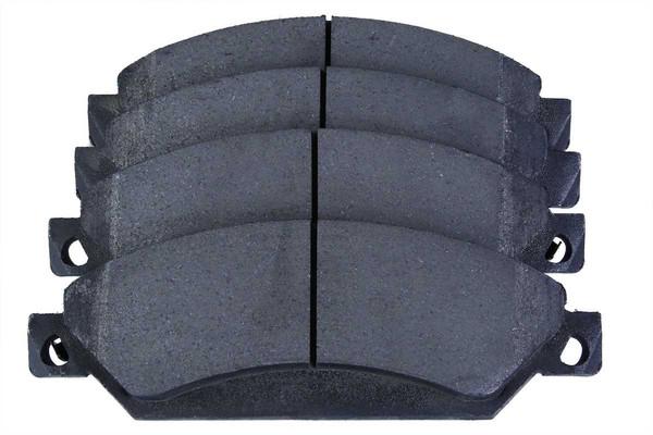 [Front Set] 2 Brake Rotors & 1 Set Semi Metallic Brake Pads - Part # RSMK65099-65099-1092-2-4