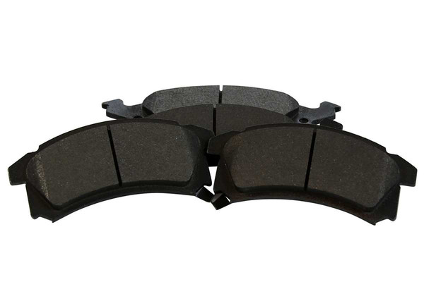[Front Set] 2 Brake Rotors & 1 Set Semi Metallic Brake Pads - Part # RSMK6582-6582-673-2-4