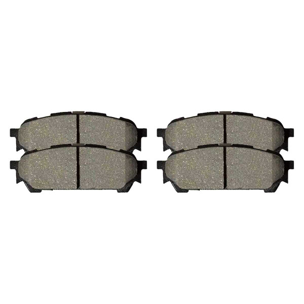 Rear Ceramic Brake Pad Set 4 Wheel Disc - Part # SCD1004