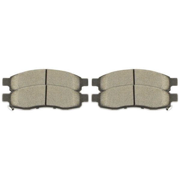 Front Ceramic Brake Pad Set - Part # SCD1015