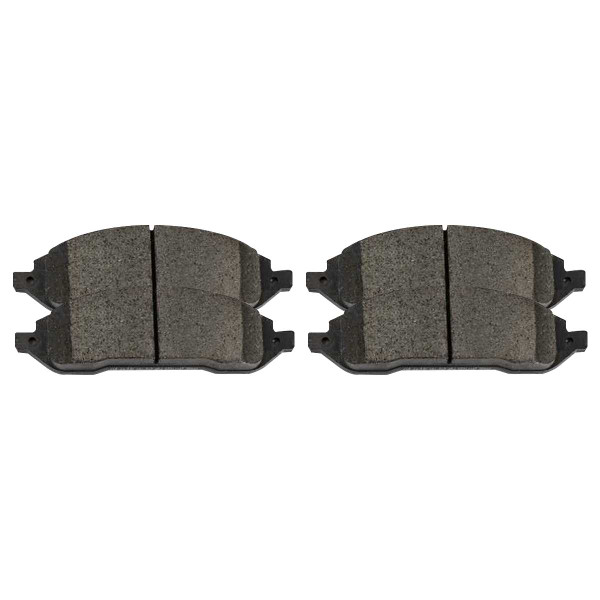 Front Ceramic Brake Pad Set - Part # SCD1022