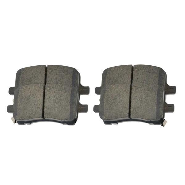 Front Ceramic Brake Pad Set - Part # SCD1028