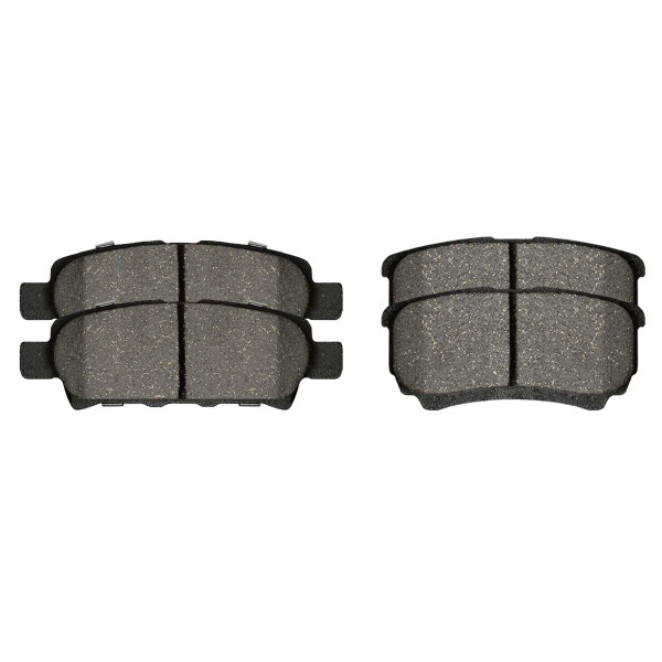 Rear Ceramic Brake Pad Set 4 Wheel Disc - Part # SCD1037