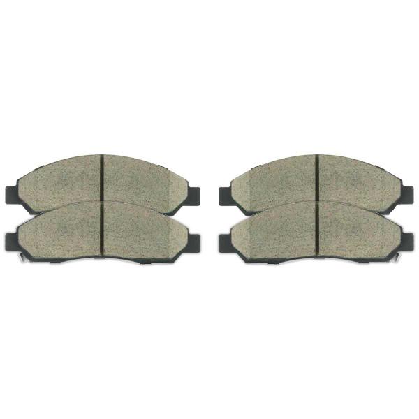 Front Ceramic Brake Pad Set - Part # SCD1039