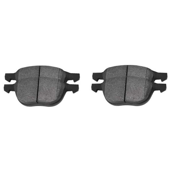 Front Ceramic Brake Pad Set - Part # SCD1044