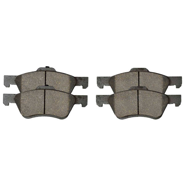 Front Ceramic Brake Pad Set - Part # SCD1047