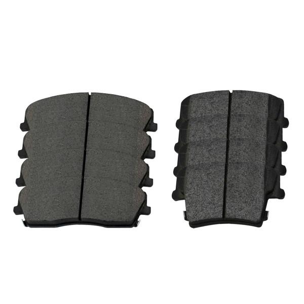 Front and Rear Ceramic Brake Pad Bundle - Part # SCD1057-1056